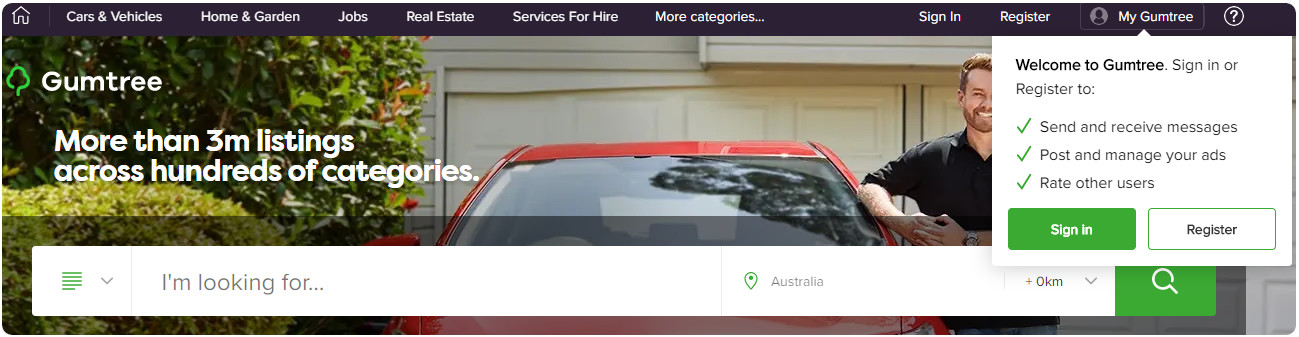 how to set up a gumtree ad for your business